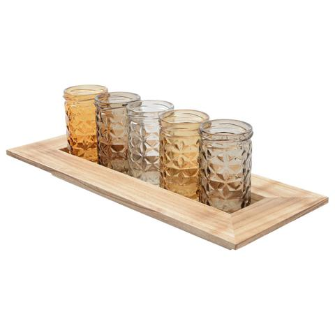Votives on a Tray