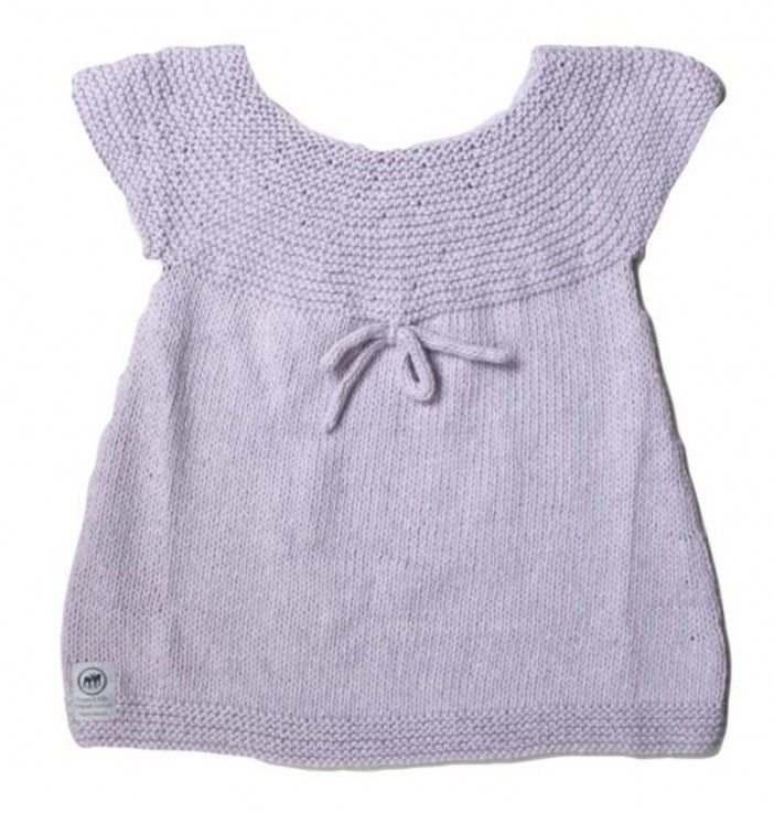 Fawn and Milk Best Sunday Dress Lavender