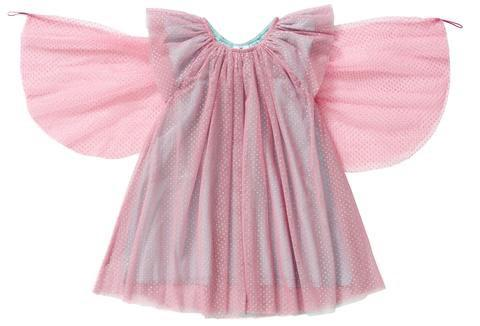 Hootkid sparkle dress with wings