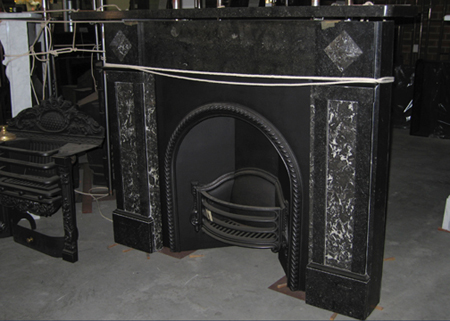0426 Antique Marble Fireplace Surrounds