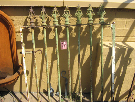 Victorian Cast Iron Gate