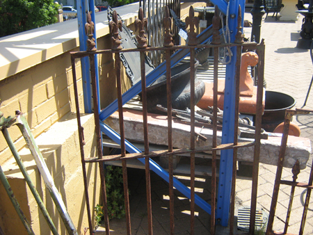 Large Cast Iron Gate