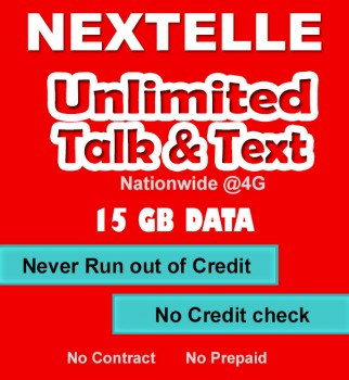 NEXTELLE UNLIMITED MOBILE PLAN 15GB!