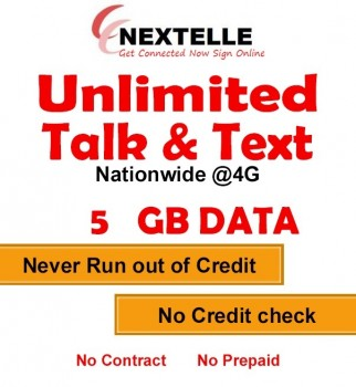 NEXTELLE UNLIMITED MOBILE PLAN +5GB DATA