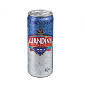 Luandina Pure Malt Beer 24 x 33CL Sleek