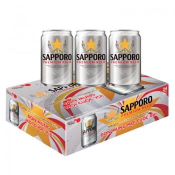 Sapporo Premium Beer 330ml/ Sapporo Whol