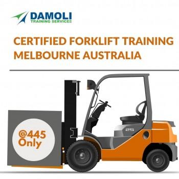 OSHA compliant to obtain Forklift Job in Melbourne