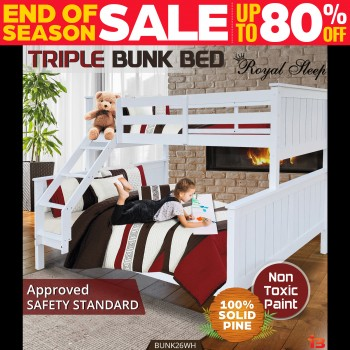 Double & Triple Bunk Beds Online