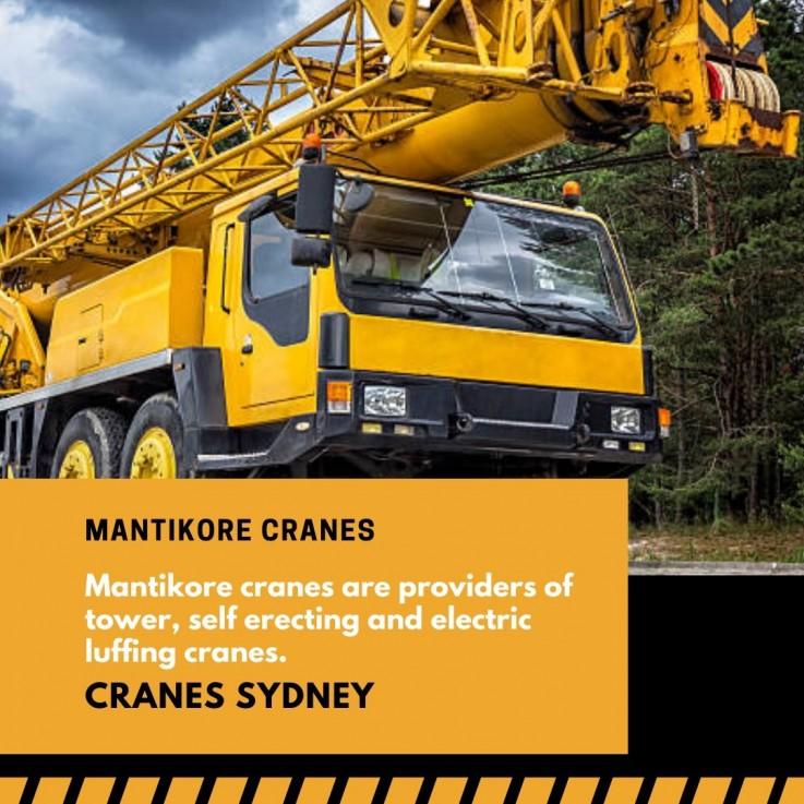 Cranes Sydney