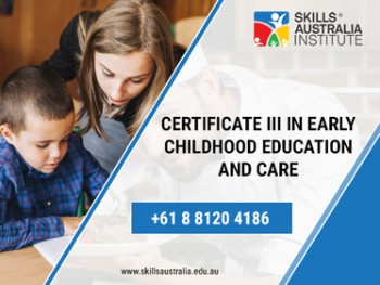 Give Wings To Your Career With Our Certificate III In Early Childhood Education And Care