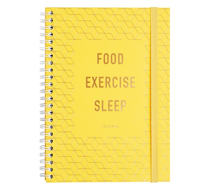 FOOD. EXERCISE. SLEEP. JOURNA