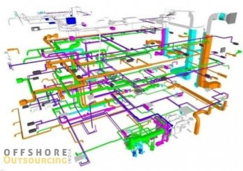 MEP Drafting outsourcing services– Offshore Outsourcing India