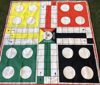 2 in 1 Giant Game Ludo & Backgammon
