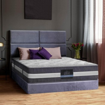 GISELLE BEDDING QUEEN MATTRESS BED SIZE