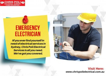 Emergency Electrician Penrith | Chris Poli Electrical Services