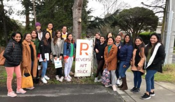 RGIT Students Visits Reverse Art Truck Inc