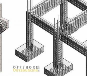 Structural Rebar Detailing outsourcing services– Offshore Outsourcing India