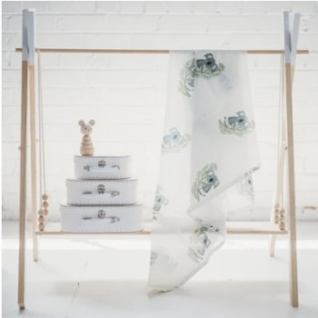 Skin-Friendly and Soft Muslin Swaddle Wr