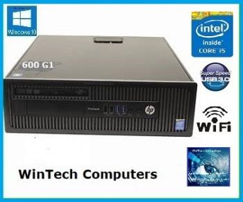 HP EliteDesk 800 i5 8GB Memory sff Desktop Computer