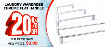 Massive Discount on Wardrobe Handles – V