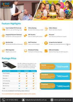 Party booking | Ticket Booking Software