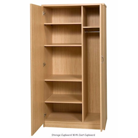 Combination Storage & Coat Cupboard