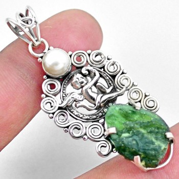 Collection of Moldavite Pendants