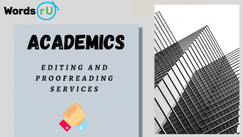 Academic Editing and Proof Reading Services | WordsRU