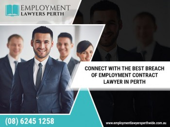 Top breach of contract for employment lawyers in Perth? contact employment lawyers