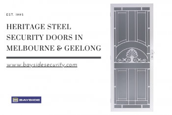 Custom Heritage Steel Security Doors