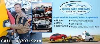 Cash For Unwanted Car Removal Adelaide UpTo $9999