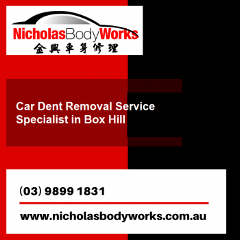 Affordable Dent Removal Service Boxhill