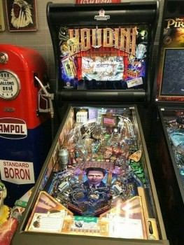 Pinball Machines and other board games.
