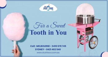 Want to Buy a Fairy Floss Machine in Melbourne?
