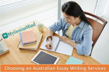 Choosing an Australian Essay Writing Services