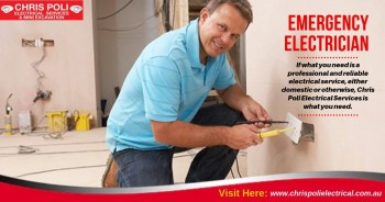 Emergency Electrician in Glenmore Park - Chris Poli Electrical Services