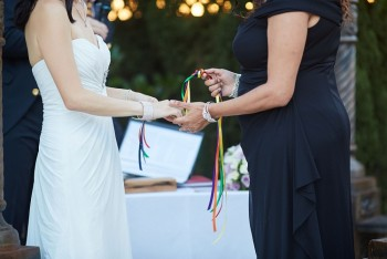 Have an exclusive same-sex wedding