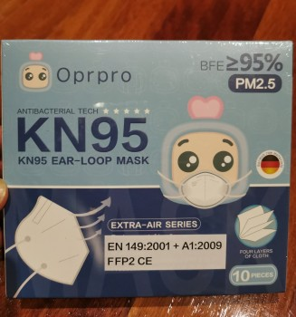 Brand new KN95 4-ply masks 10 pack
