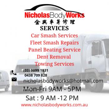 Quality Car Smash Repairs in Box Hill