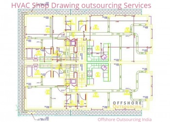 HVAC Shop Drawing outsourcing services – Offshore Outsourcing India
