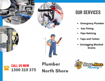 Licensed and skilled plumber in North Shore