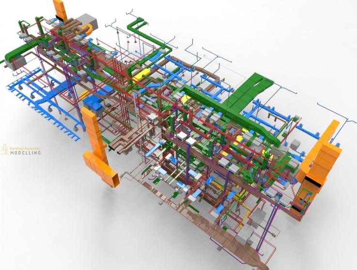 MEP 3D BIM Model ...