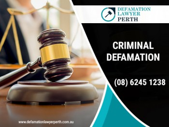 What is Criminal law?Ask defamation claim lawyer