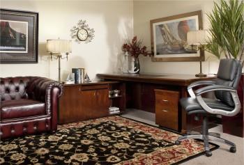 Einstein 3 piece wooden office desk