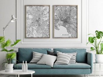 Custom Printed Maps | Personalised Maps