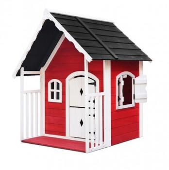 Buy Wooden Cubby Playhouse for Kids on A
