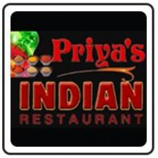 Priya's Indian Restaurant - 5% OFF
