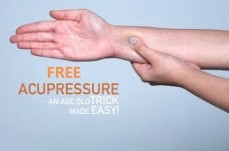 LIMITED TIME FREE ACUPRESSURE TREATMENT