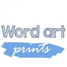Word Art Prints