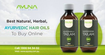 Experience the Power of Ayurveda with Herbal Hair Oil